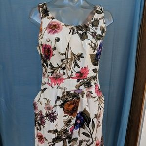Forever 21 Floral Mod Dress